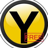 yellow free 徽标