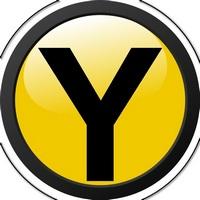 Yellow robot de forex logo