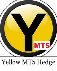 Yellow MT5 Hedge robot de forex logo